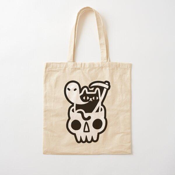 Doom Cat Cotton Tote Bag