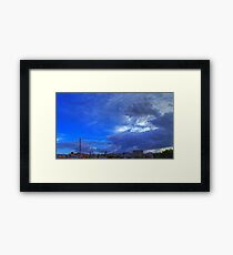 ©HCS In The Blue Cloudscape HDR Framed Print