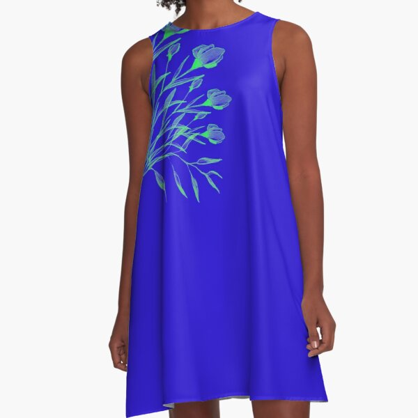 AFTER THE WIND: QUICK SKETCH A-Line Dress