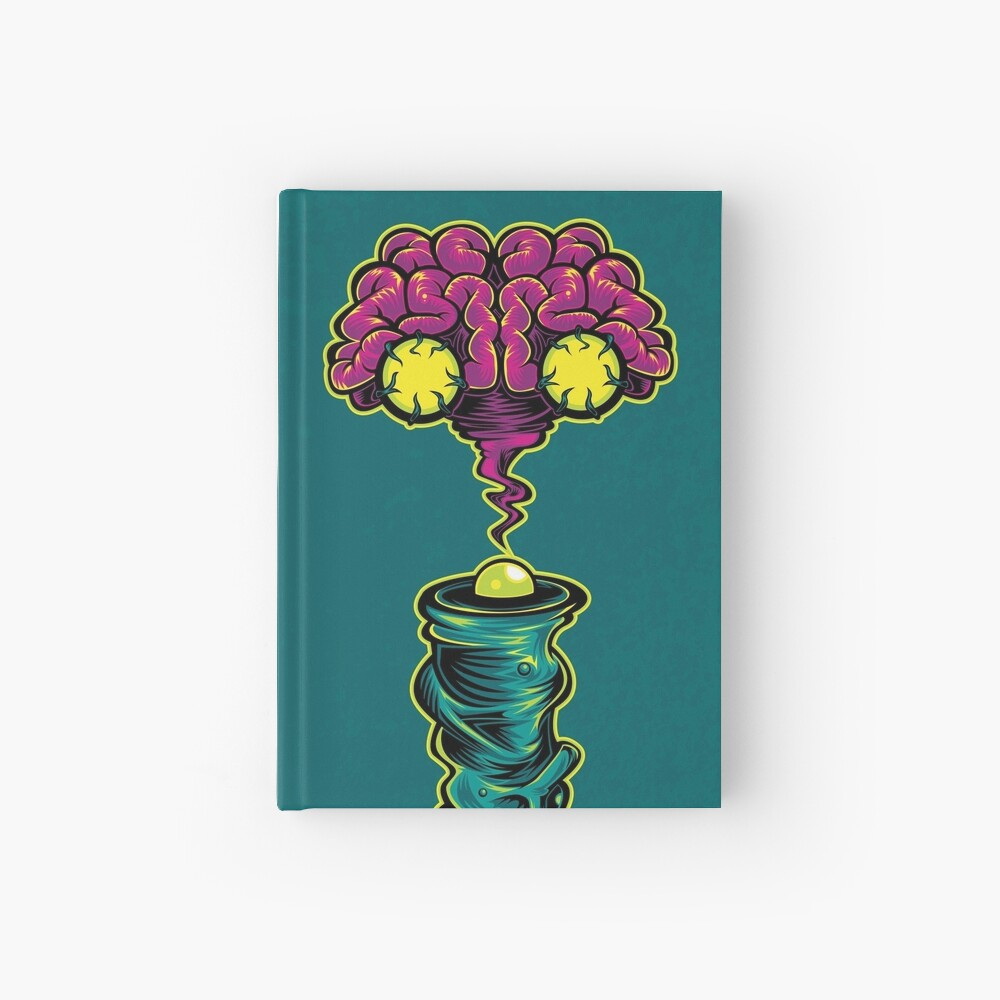 I is for Intergalactic Intelligence  Hardcover Journal