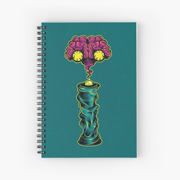 I is for Intergalactic Intelligence  Spiral Notebook