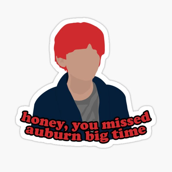 honey mist auburn (Z&C pack) Sticker