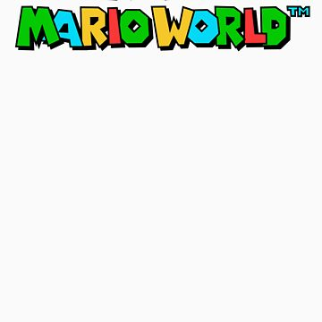 Super Mario World Logo by Fayzun