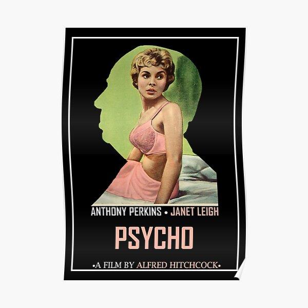 Psycho Alternative Film Poster Poster