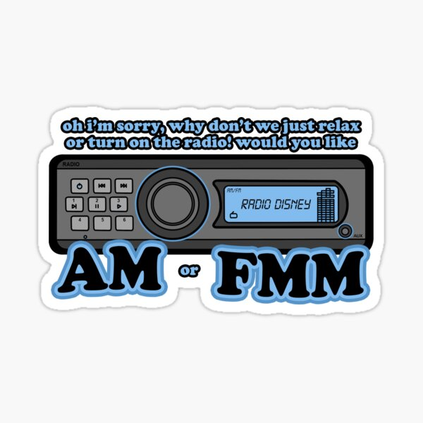 AMM OR FMMMM (Z&C pack) Sticker