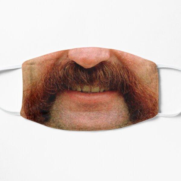 Merv Hughes. Mervyn Hughes.  Flat Mask