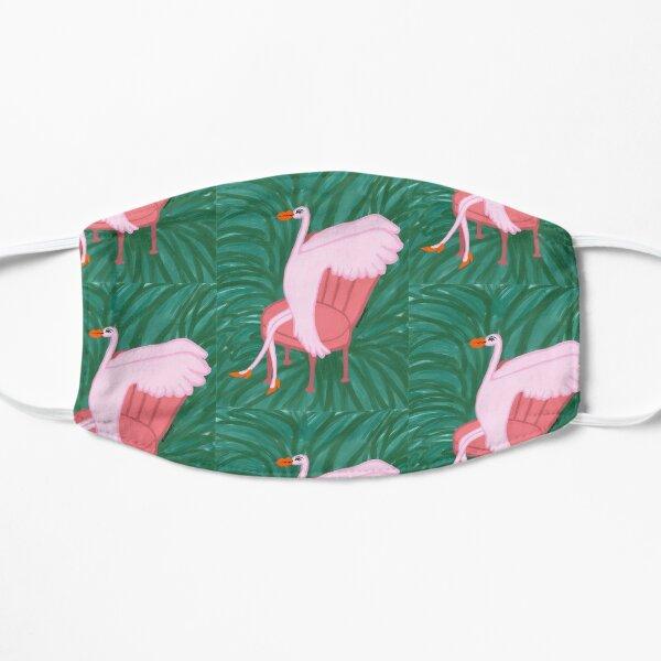 Lounging Flamingo Flat Mask