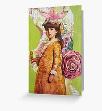 Miss Maggie Greeting Card