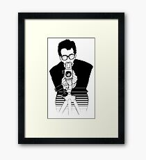 Elvis Costello - This Year's Model - Illustration Framed Print