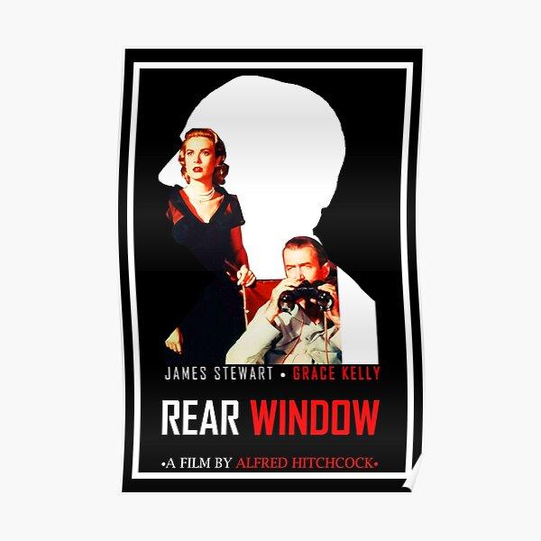 Rear Window Alternative Film Poster Poster
