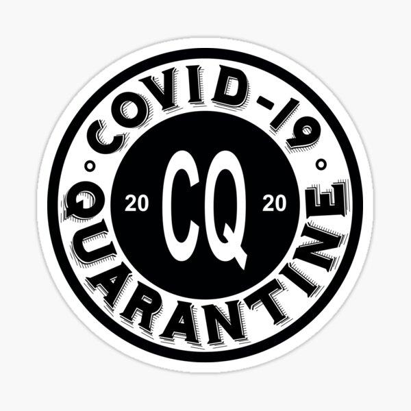 Covid-19 Quarantine Sticker