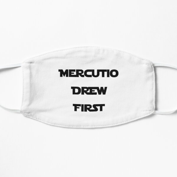 Mercutio Drew First - Black Flat Mask