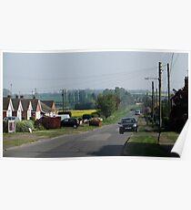 Idylic rural English village life Poster