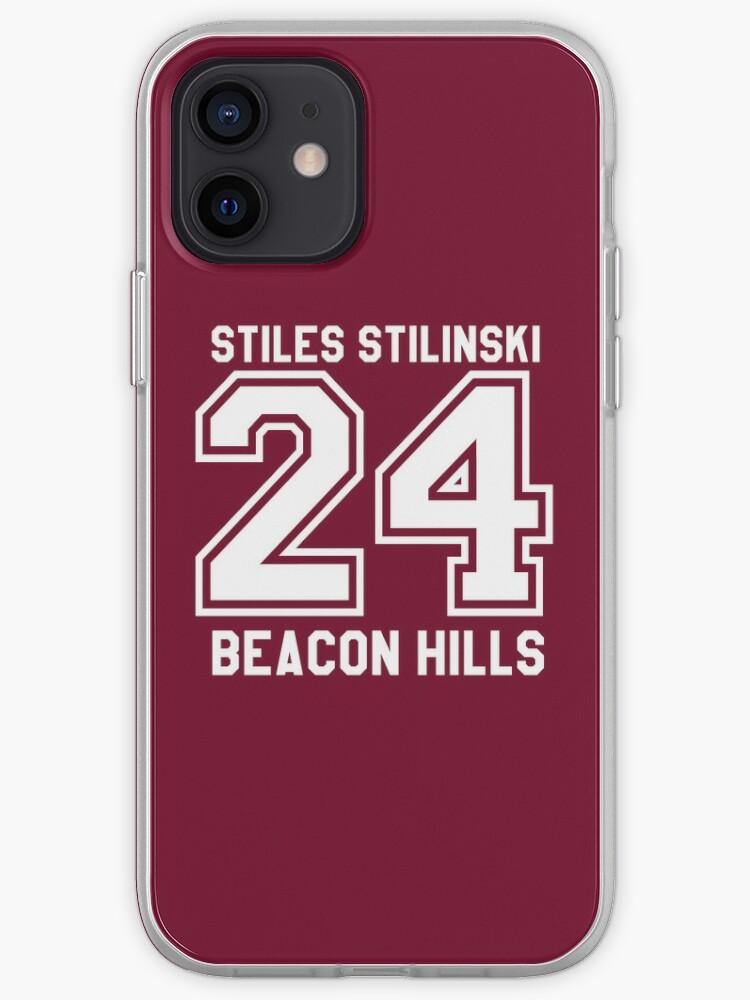 Stiles Stilinski # 24   Coque iPhone