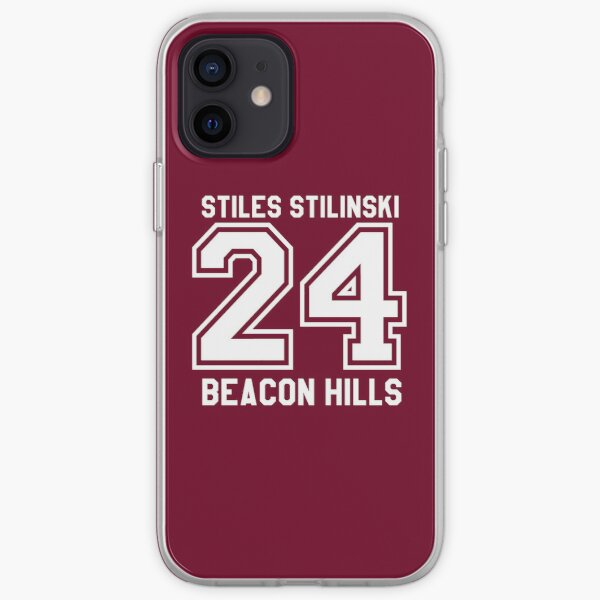 Stiles Stilinski #24 iPhone Soft Case