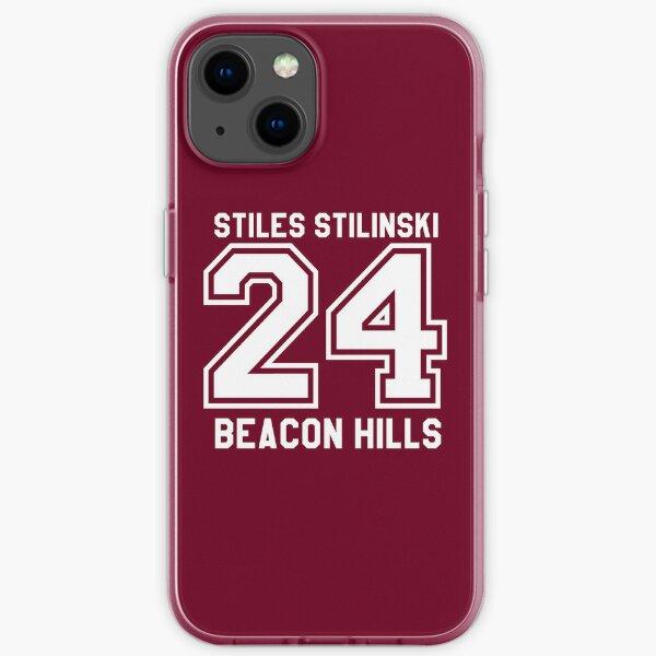 Stiles Stilinski # 24 Coque souple iPhone