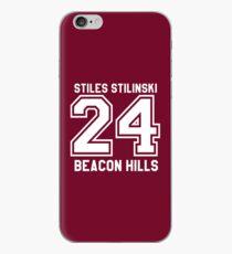 Stiles Stilinski #24 iPhone Case