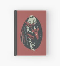 Red Rocket (Distressed) Hardcover Journal