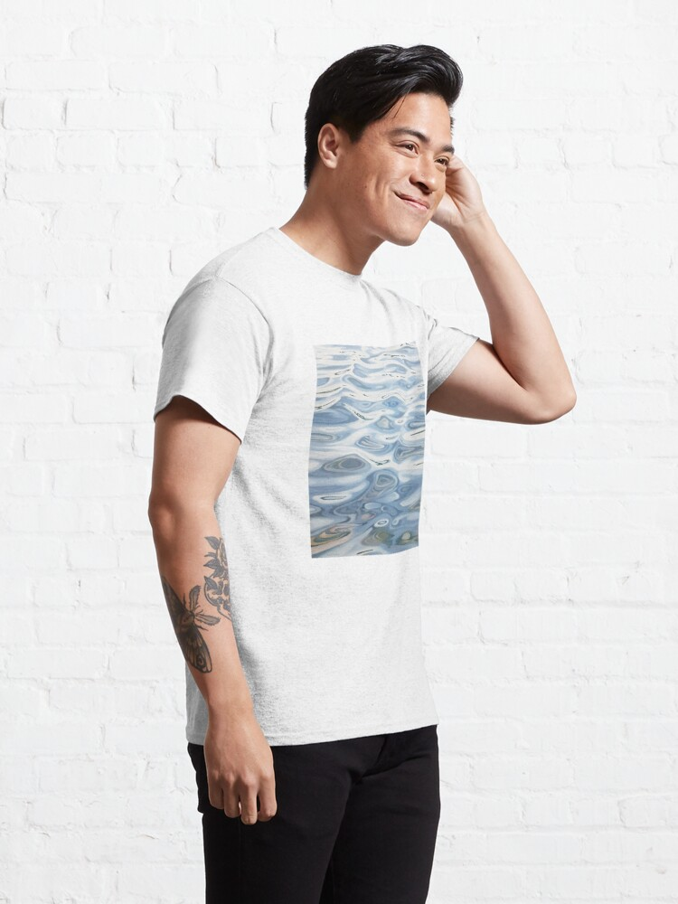 Alternate view of Intention - water painting Classic T-Shirt