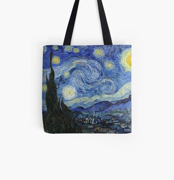 Noche estrellada de Vincent Van Gogh Bolsa estampada de tela