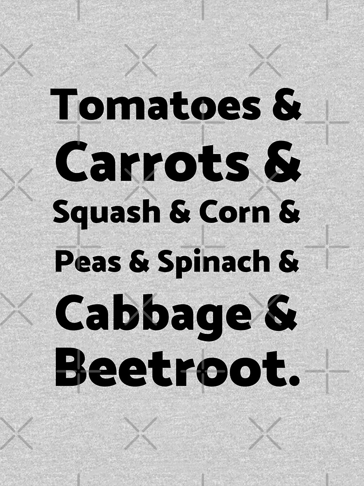 List of Vegetables by nikkihstokes