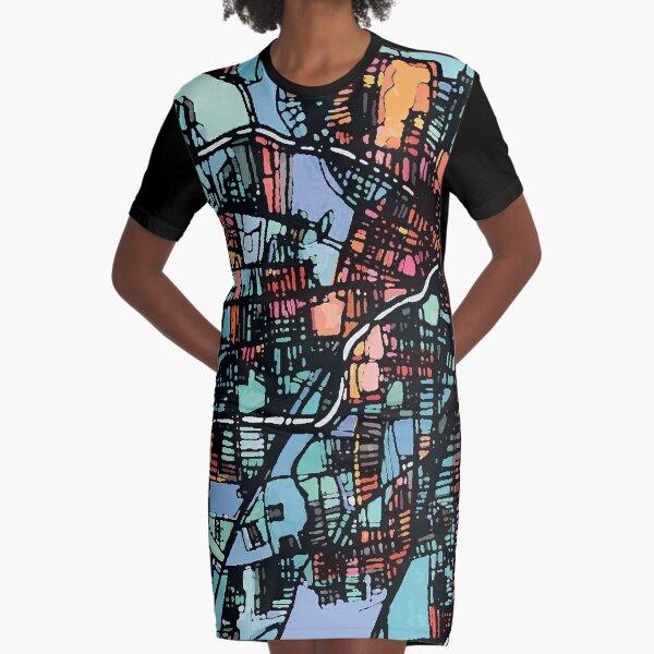 Hartford, CT Graphic T-Shirt Dress