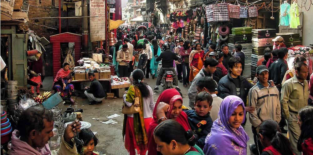 Kathmandu Market by V1mage