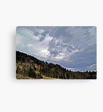 Earth and Sky Canvas Print