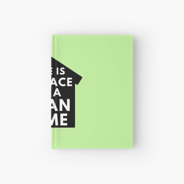 There Is No Place Like a Clean Home Hardcover Journal