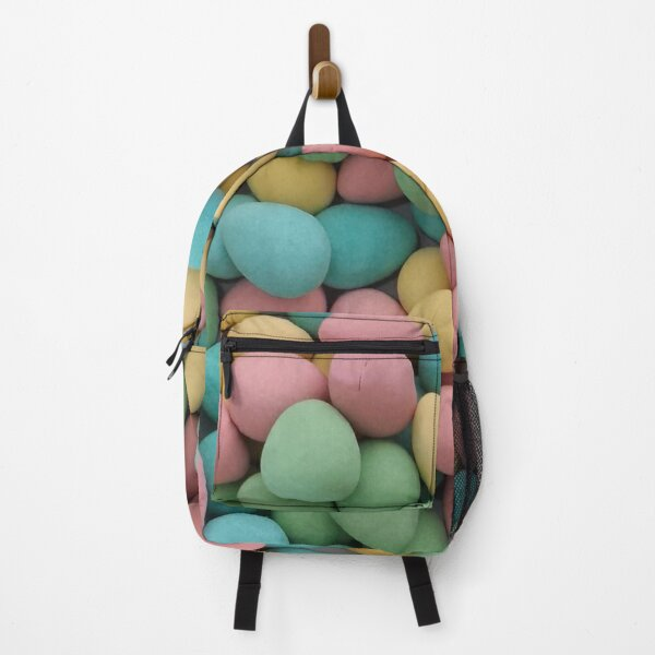 Easter chocolate candy pastel mini eggs Backpack