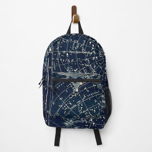 Drawstring Backpack Constellations Stars Gym Bag