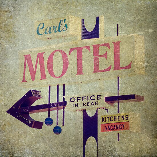Carl's Motel by Honey Malek