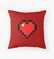 Heart - Minecraft Throw Pillow