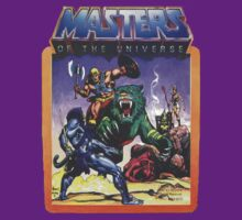 He-Man Masters of the Universe Battle Scene with Skeletor | Unisex T-Shirt