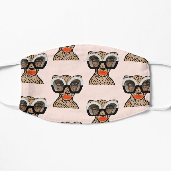 Cheetah In Shades Flat Mask