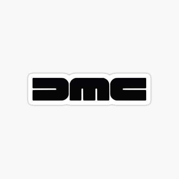 DeLorean Logo Sticker