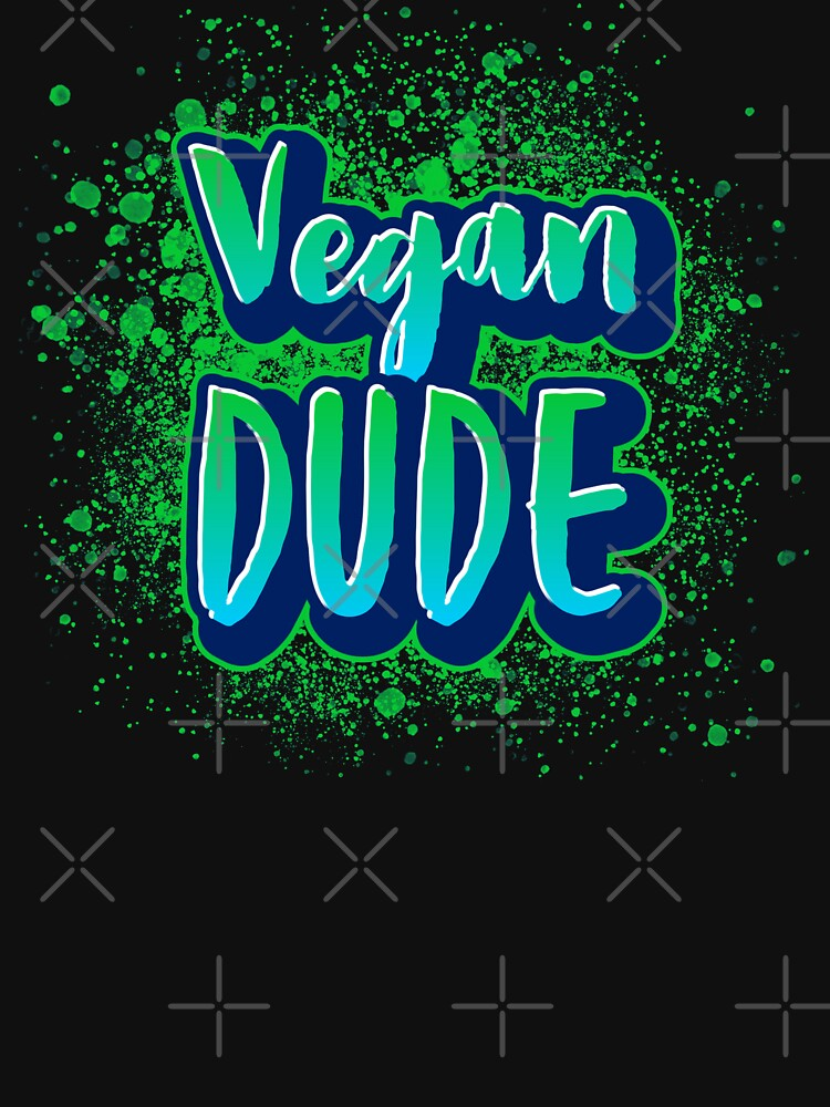 Vegan Dude by nikkihstokes