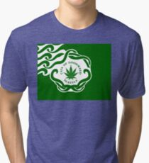 Seattle Marijuana Flag Tri-blend T-Shirt