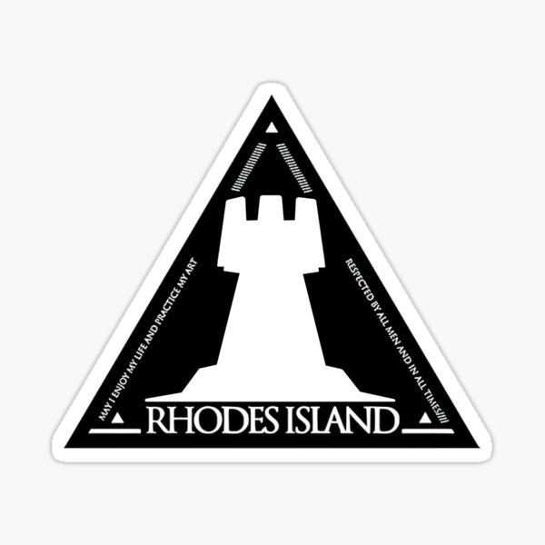 Rhodes Island Logo | Rhodes Island Pharmaceuticals, Inc. | Arknights Sticker