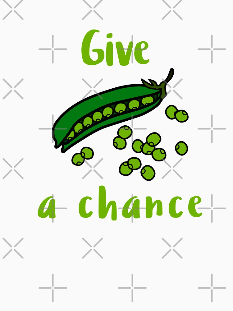 Give Peas a Chance by nikkihstokes