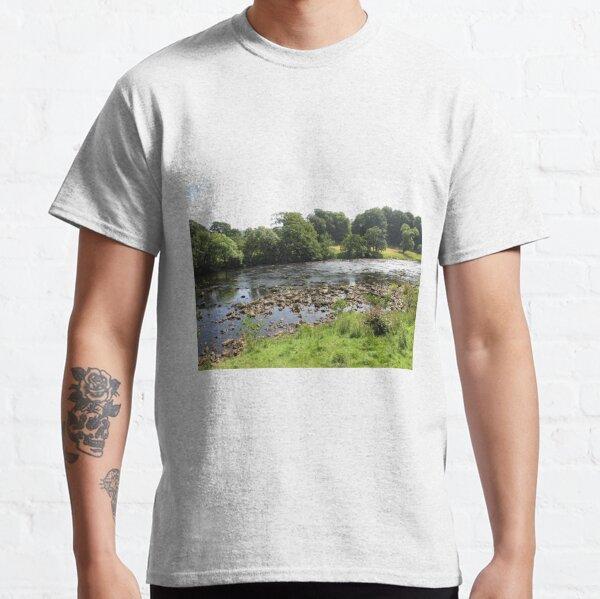 Merch #96 -- Stream Between Trees - Shot 5 (Hadrian's Wall) Classic T-Shirt