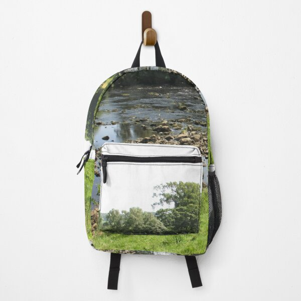 Merch #96 -- Stream Between Trees - Shot 5 (Hadrian's Wall) Backpack