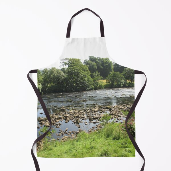 Merch #96 -- Stream Between Trees - Shot 5 (Hadrian's Wall) Apron