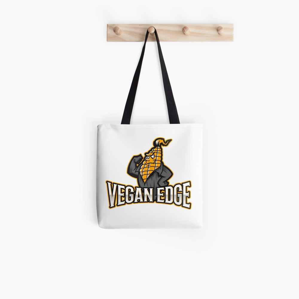 Vegan Edge with Strong Corn Tote Bag