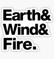 Earth Wind & Fire Classic Soul Merch Sticker