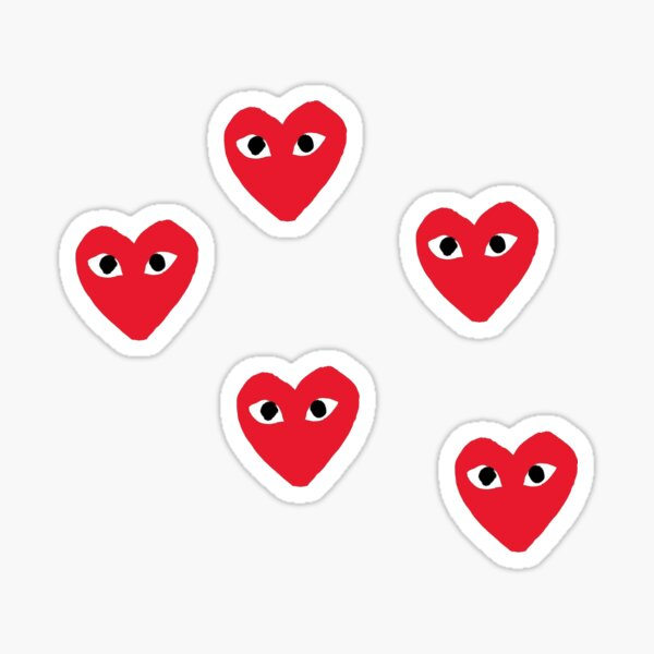Corazón Pegatina
