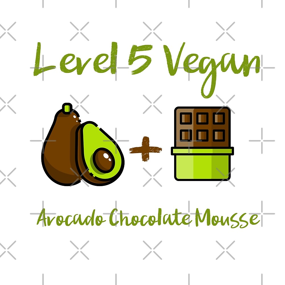 Level 5 Vegan - Avocado Chocolate Mousse by Sweevy Swag