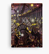 Steampunk Monday [Dark version] Canvas Print