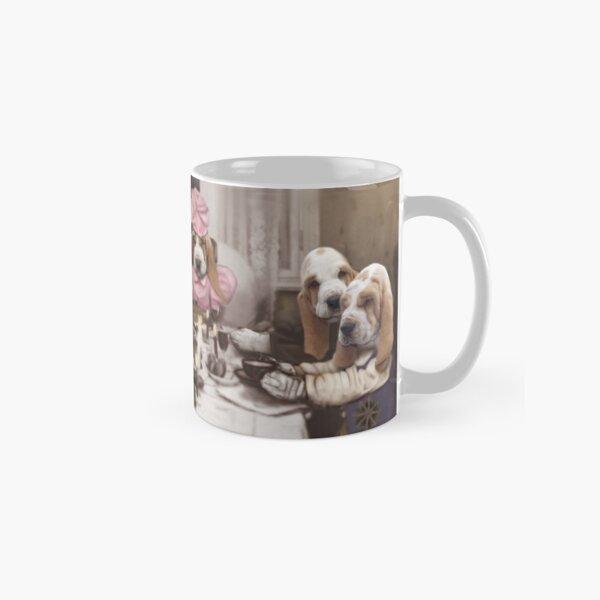 Puppies at a Birthday party Classic Mug