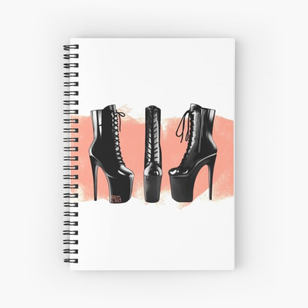 Pink Pleasers Spiral Notebook